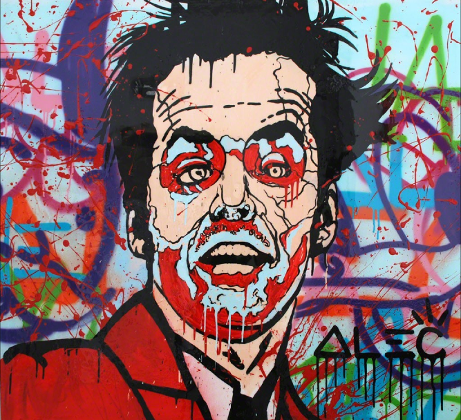 Jack Graffiti by Alec Monopoly