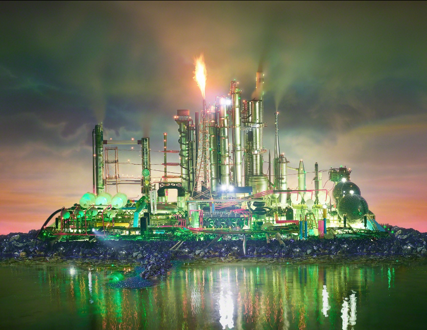 Land Scape Emerald City by David LaChapelle