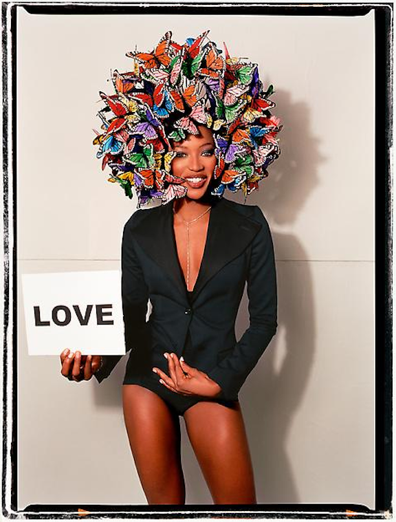 Love & Butterflies by David LaChapelle