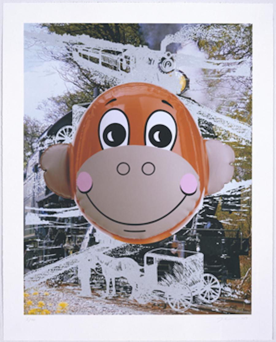 Monkey Train by Jeff Koons