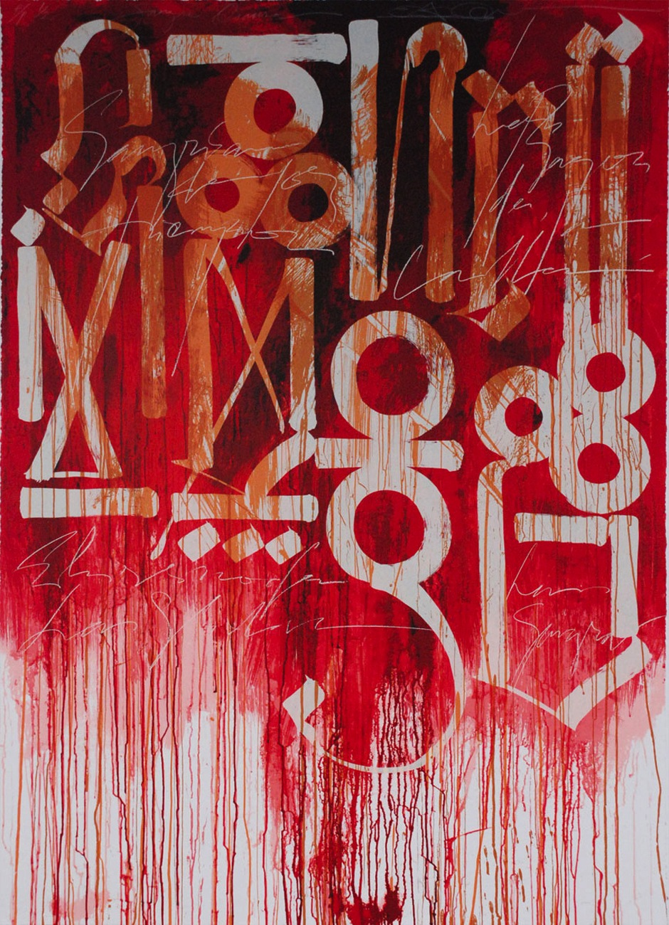Retna graffiti prints paintings for sale for Art print for sale