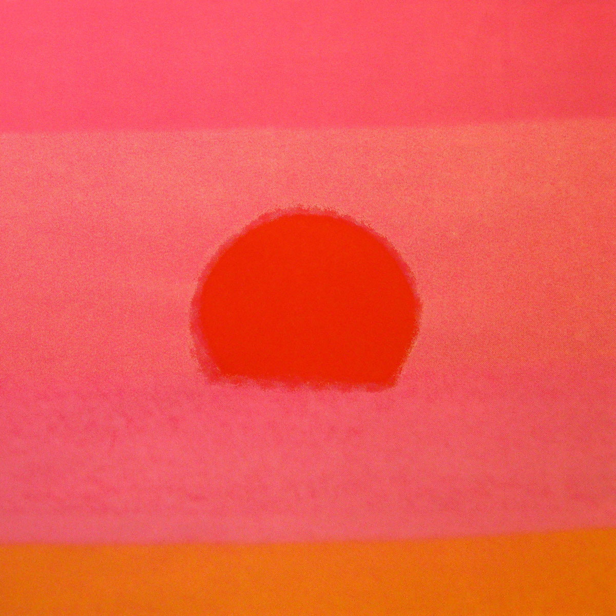 Sunset 88 Orange by Andy Warhol