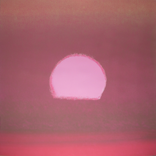 Sunset Unique Pink by Andy Warhol