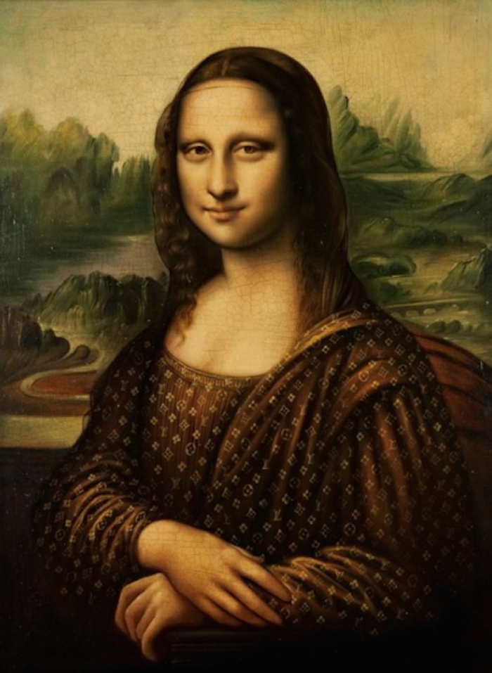 The Mona LVisa by Jason Alper