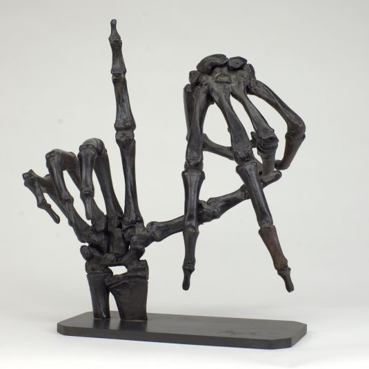 To Live and Die in LA, Mésple, sculpture