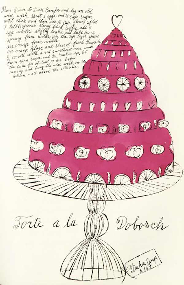 Torte a la Dobosch by Andy Warhol