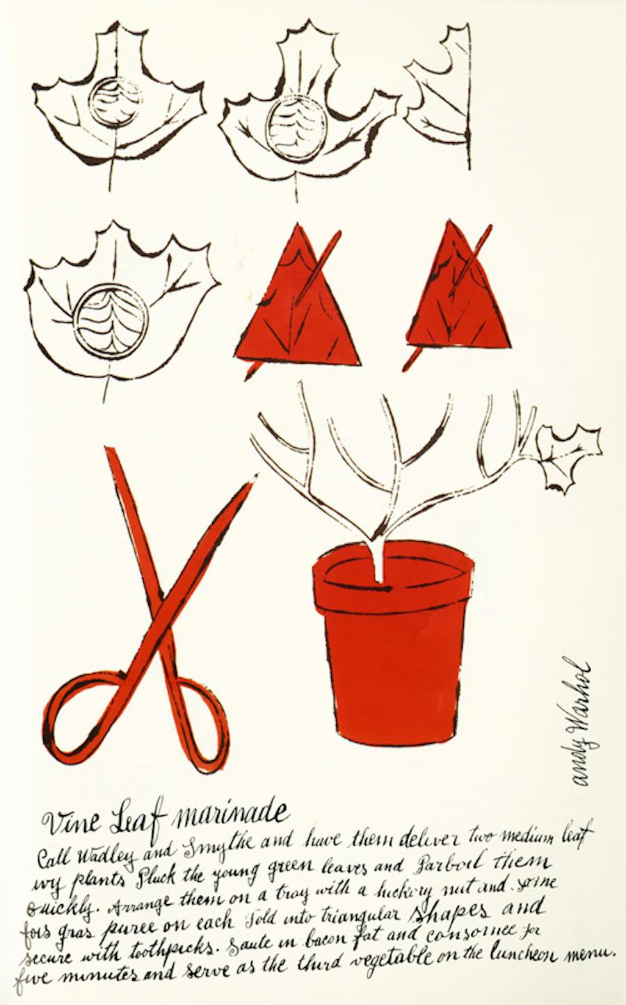 Vin Leaf Marinade by Andy Warhol