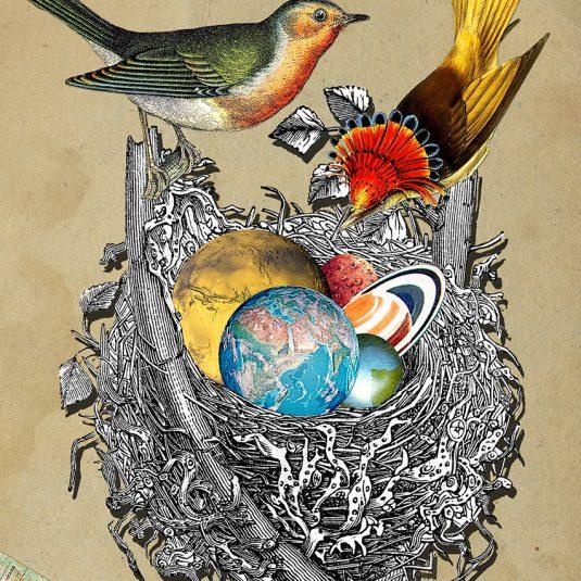 eugenialoli, loli, prints, emerging, Gaia by Eugenia Loli