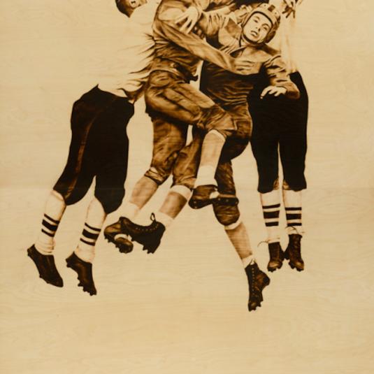 Football by Ryan McCann , RyanMcCann, McCann, Graphic