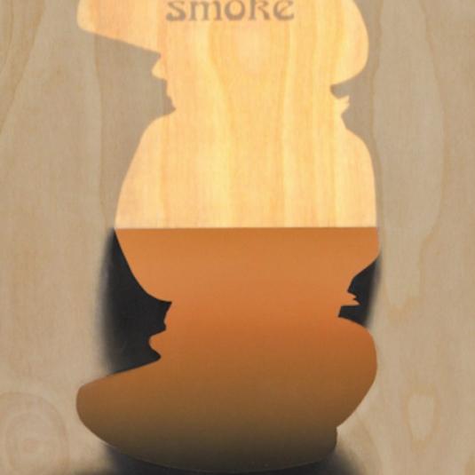 Smoke by Ryan McCann, Ryan McCann, McCann, graphic