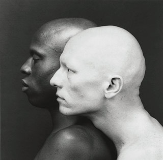 Ken Moody and Robert Sherman by Robert Mapplethorpe