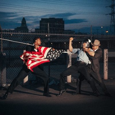 tylershields, shields, photography, American Flag by Tyler Shields