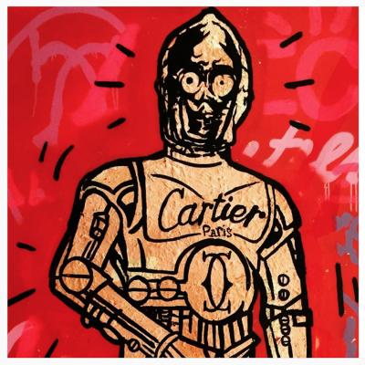 Cartier C3PO by Alec Monopoly