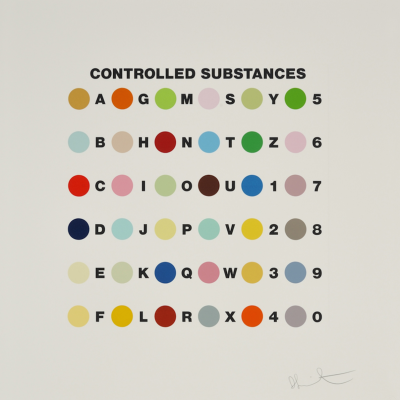 Controlled Substance by Damien Hirst , Hirst, Damien Hirst, Neo