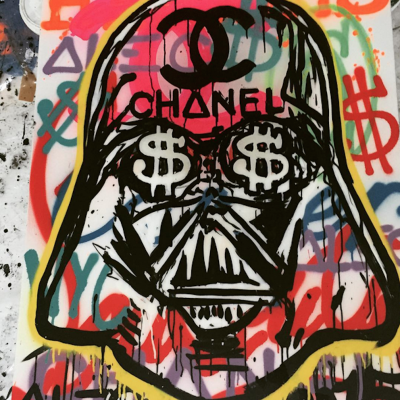 Darth Vader Chanel by Alec Monopoly