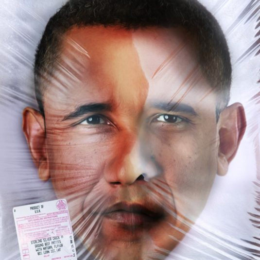 Obama, Saint Hoax, Lenticular, New