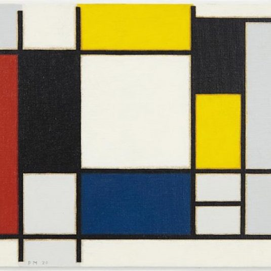 Mondrian Composition by Richard Pettibone