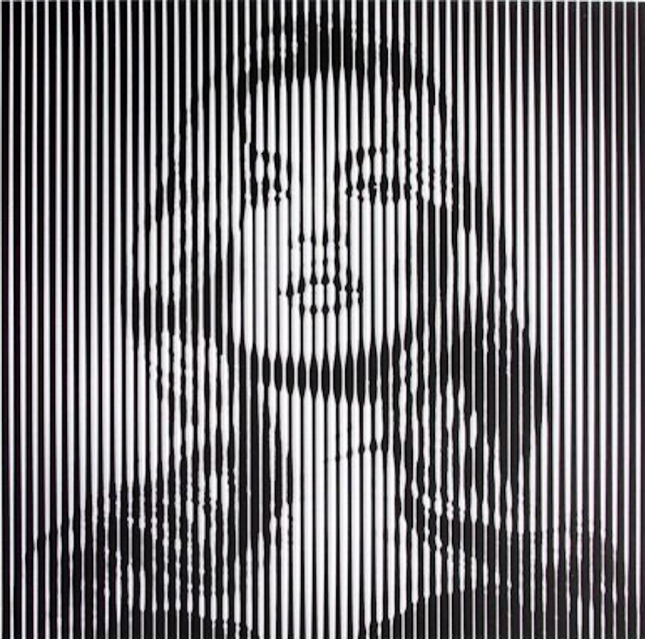 Kate Moss Print by Mr.Brainwash (Black)