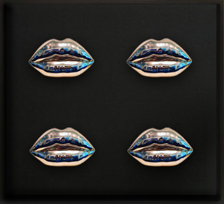 Cleopatra's Lips, 4 times, Niclas Castello, Castello, 24 carat Gilded