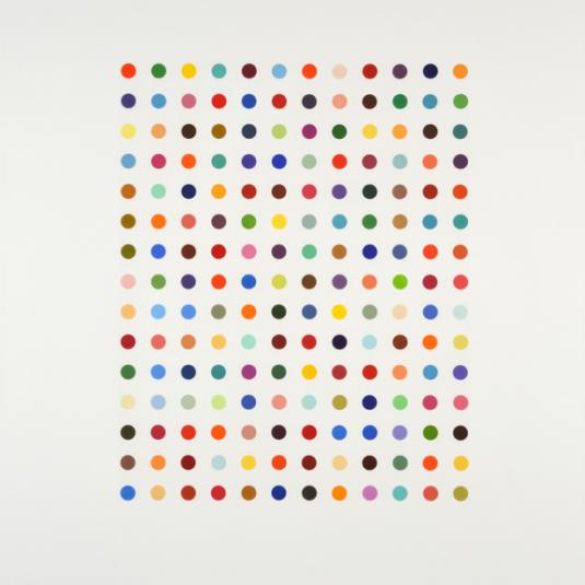 Hirst, Damien Hirst, Neo, Ethidium Bromide by Damien Hirst