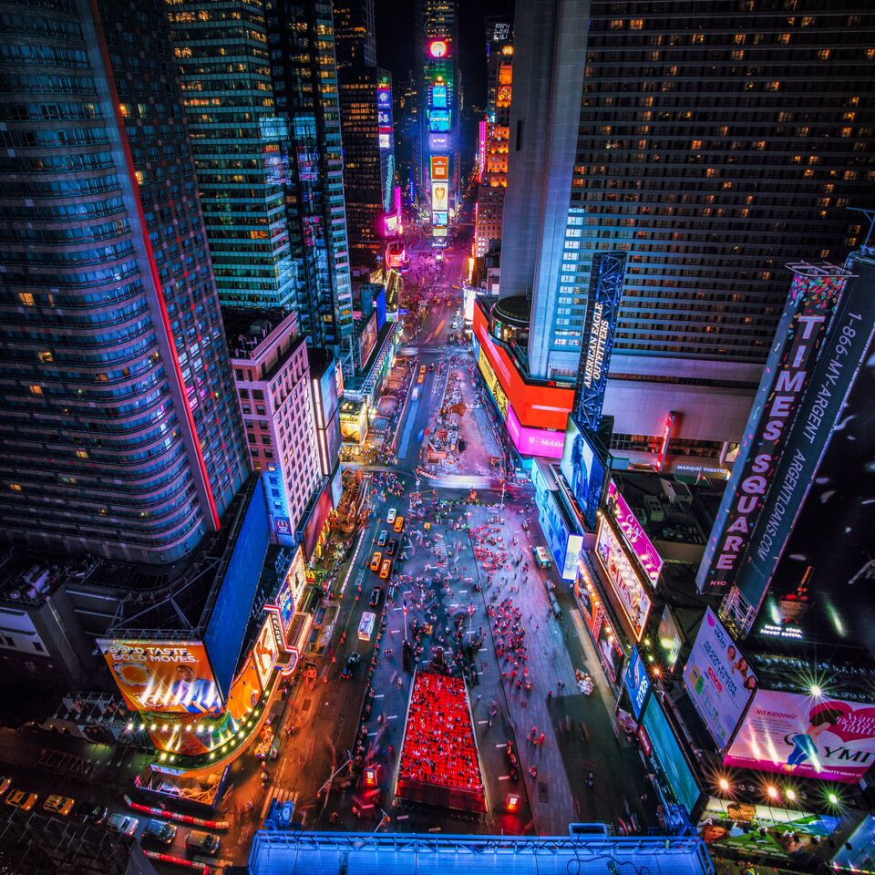 Time Square Colors by @Jacob