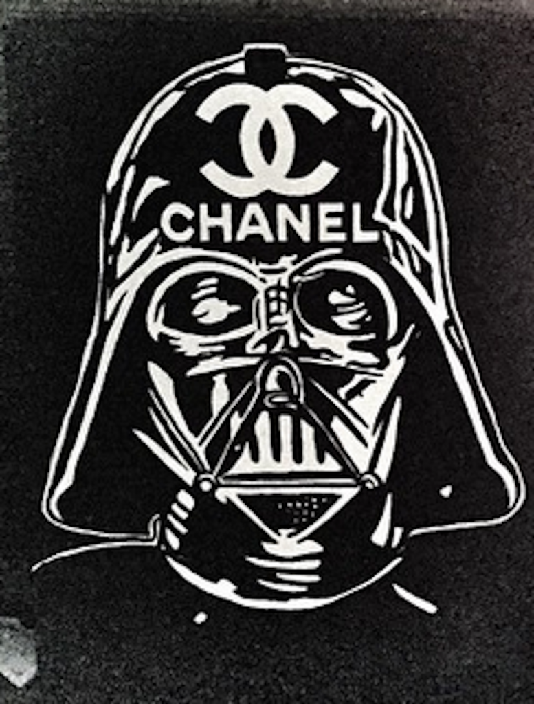 Vader Chanel by Alec Monopoly