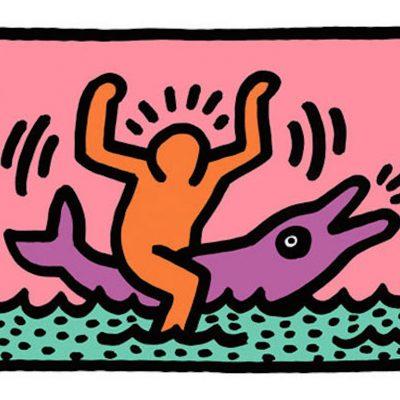 2 Pop Shop V, Keith Haring