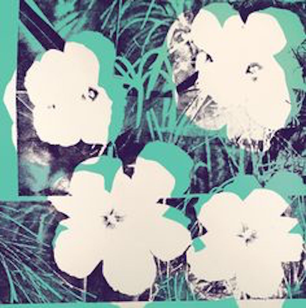 Ten-Foot Flowers by Andy Warhol