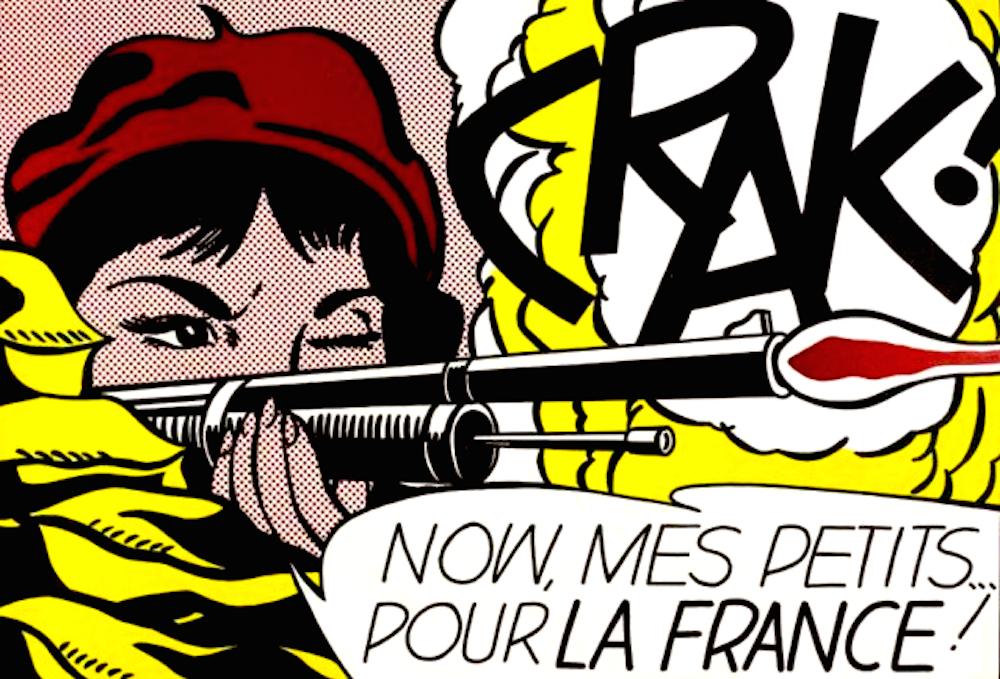 Crak, Roy Lichtenstein