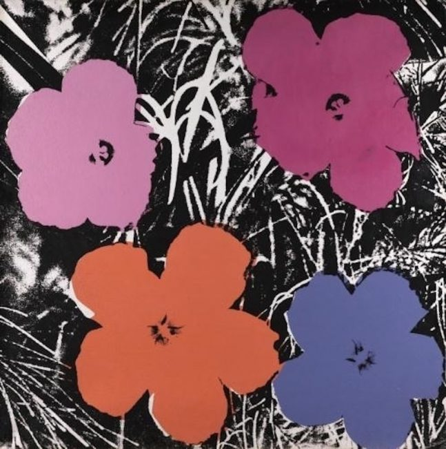 Flowers Andy Warhol - Guy Hepner