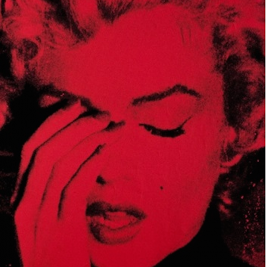 Marilyn Crying Red, Russell Young