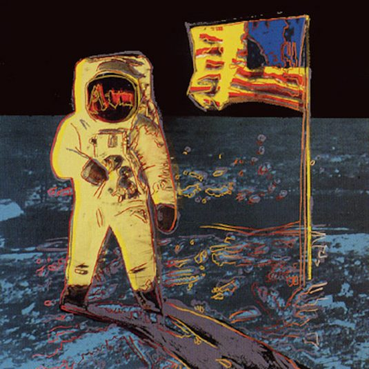 Moonwalk, Yellow, Andy Warhol