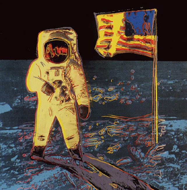 Moonwalk, Yellow, Andy Warhol