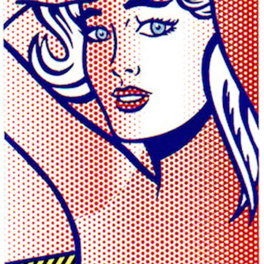 Nude with Blue Hair, Roy Lichtenstein