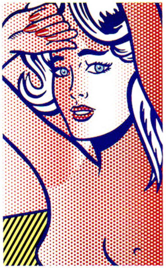 Nude with Blue Hair, Roy Lichtenstein