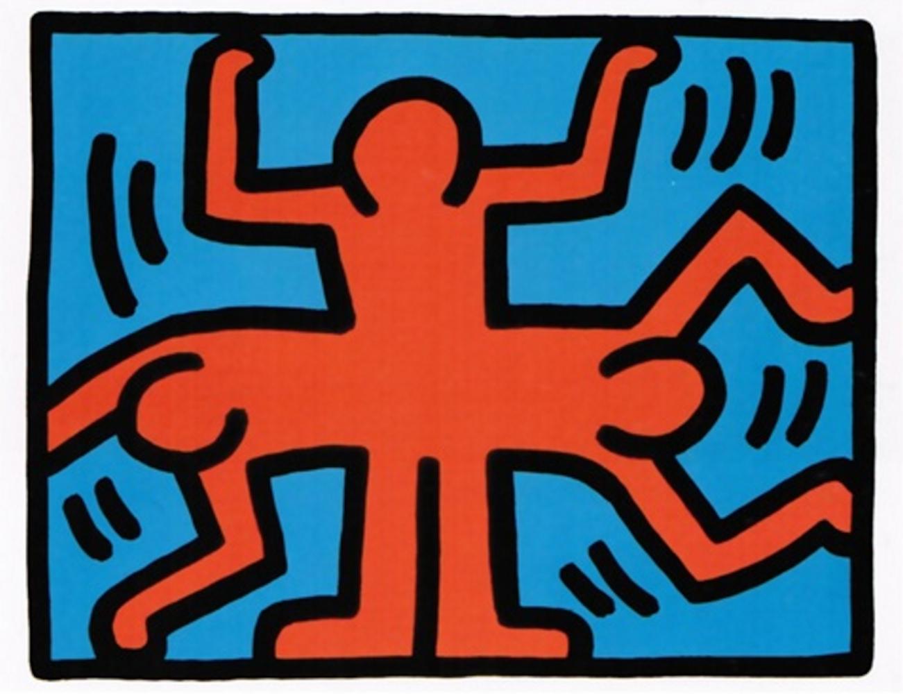 4 Pop Shop VI by Keith Haring