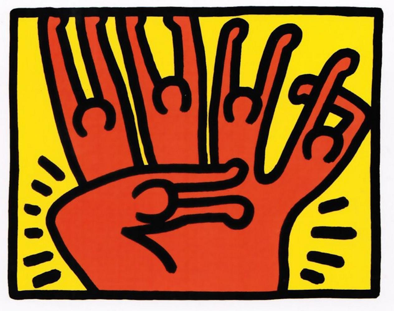 3 Pop Shop VI by Keith Haring