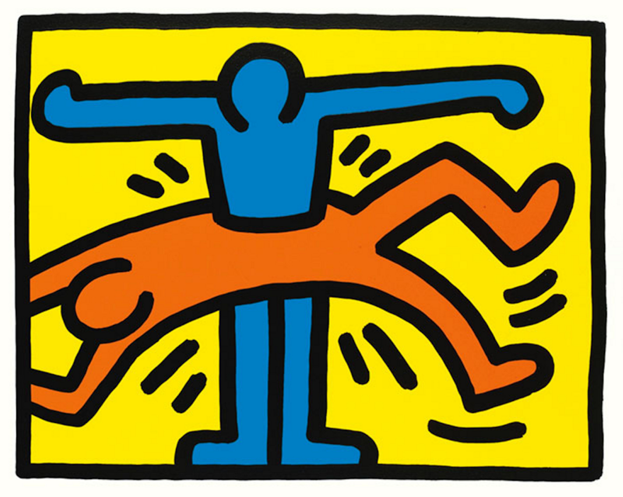 1  Pop Shop VI by Keith Haring
