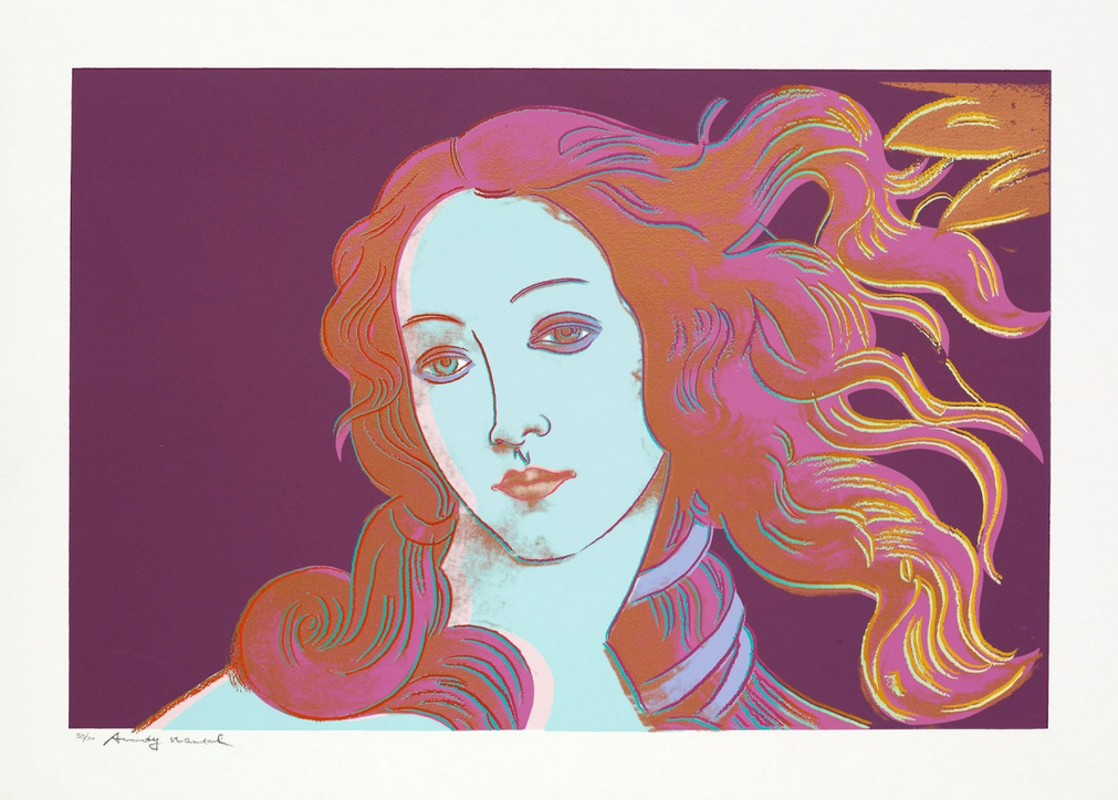 Andy Warhol Birth of Venus 317