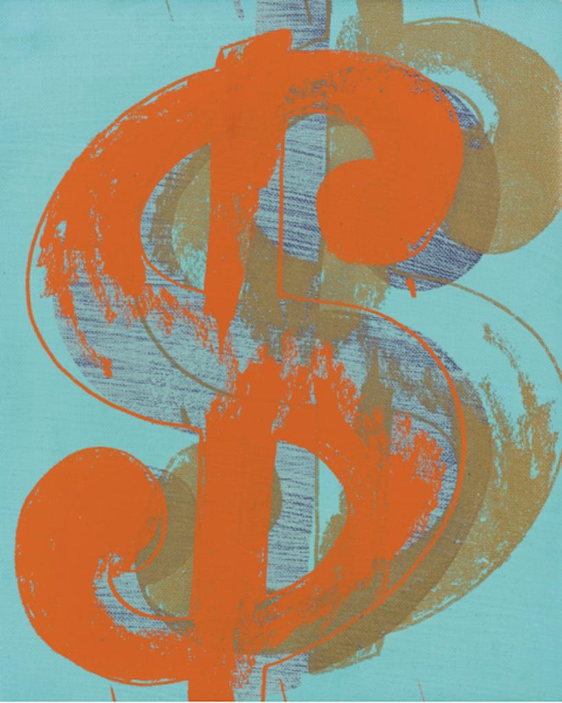 Single $ By Andy Warhol