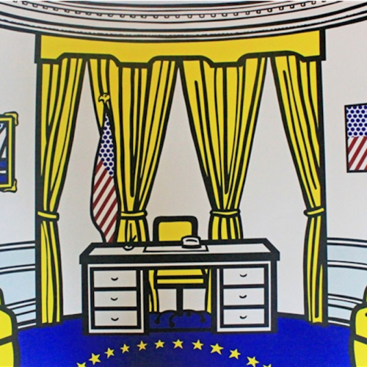 The Oval Office, Roy Lichtenstein