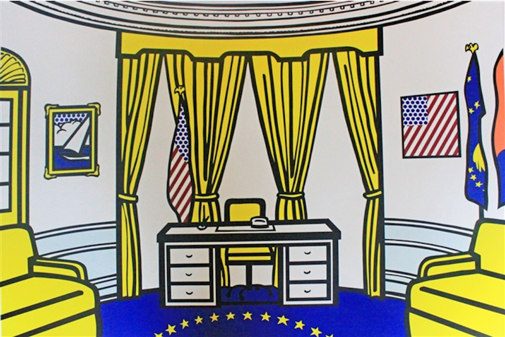 The Oval Office by Roy Lichtenstein