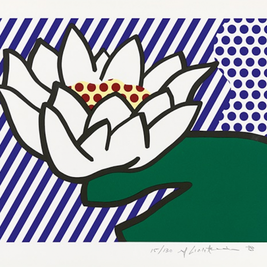 Water Lily, Roy Lichtenstein
