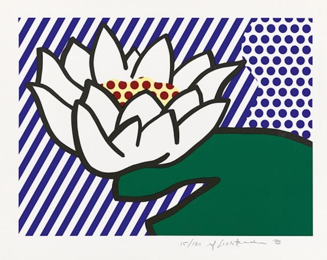 Roy Lichtenstein Water Lilies, Roy Lichtenstein Water Lilies