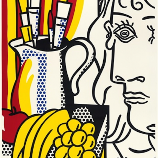 Still live with Picasso, Roy Lichtenstein
