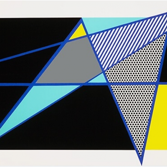 Imperfect 44 3/4 x 103, Roy Lichtenstein