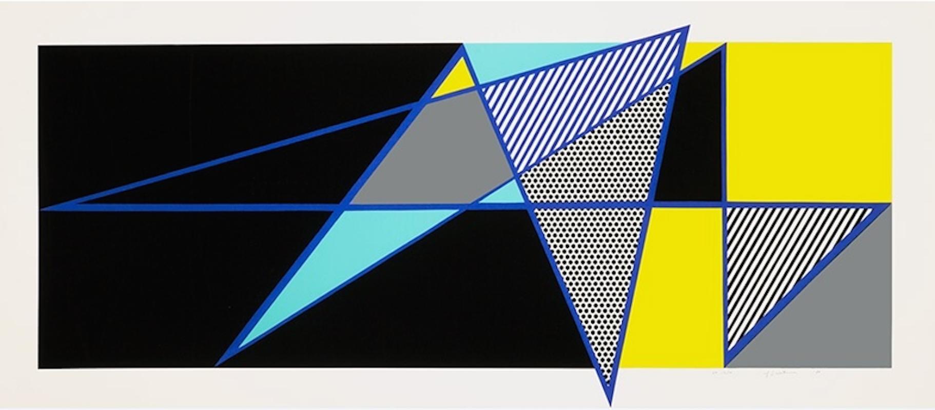 Imperfect 44 3/4 x 103 by Roy Lichtenstein