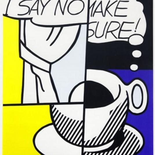 ...HUH?, Roy Lichtenstein