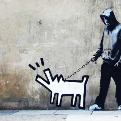 choose your weapon, Banksy