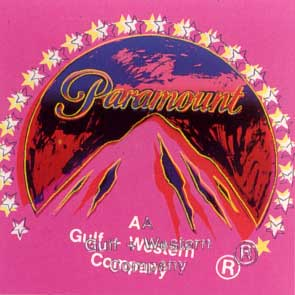 Paramount Ad Trial Proof by Andy Warhol